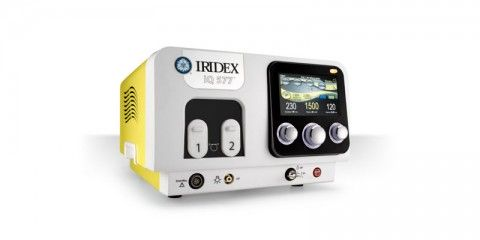 iridex small 480x240 - Micropulse laser (available in our clinics in Gliwice and Rybnik)