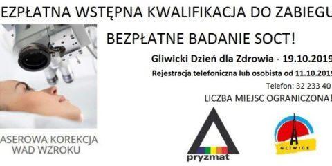 PRY2 480x240 - PRYZMAT OKULISTYKA GLIWICE partnerem Gliwickiego Dnia dla Zdrowia.